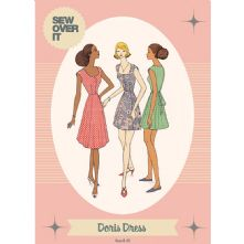 Vintage Inspired 1950's 'Doris' Dress Pattern